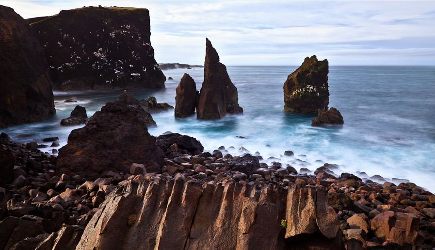 Sea Stacks - Iceland